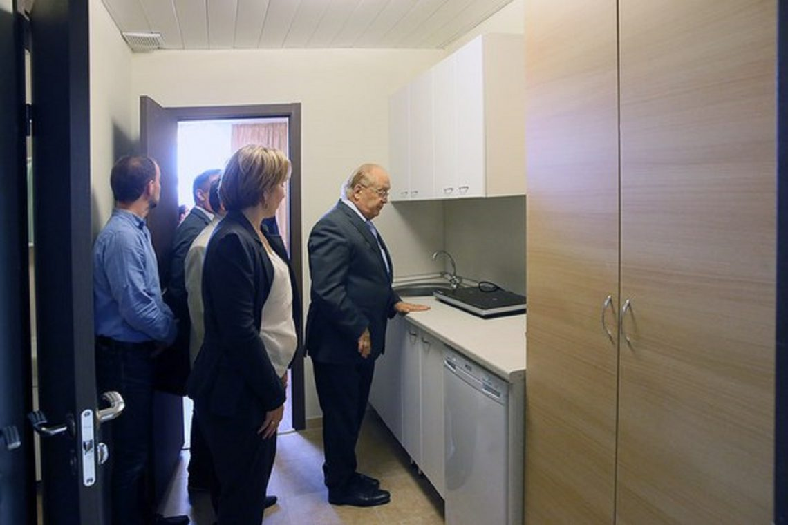 Ректор МГУ в общежитии